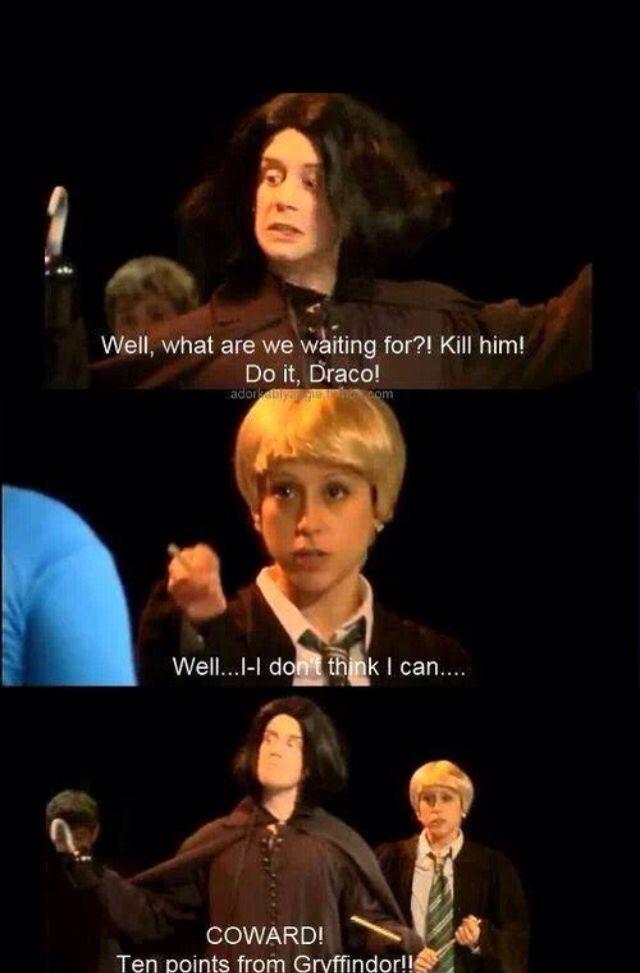 Profesor Snape a Draco Malfoy