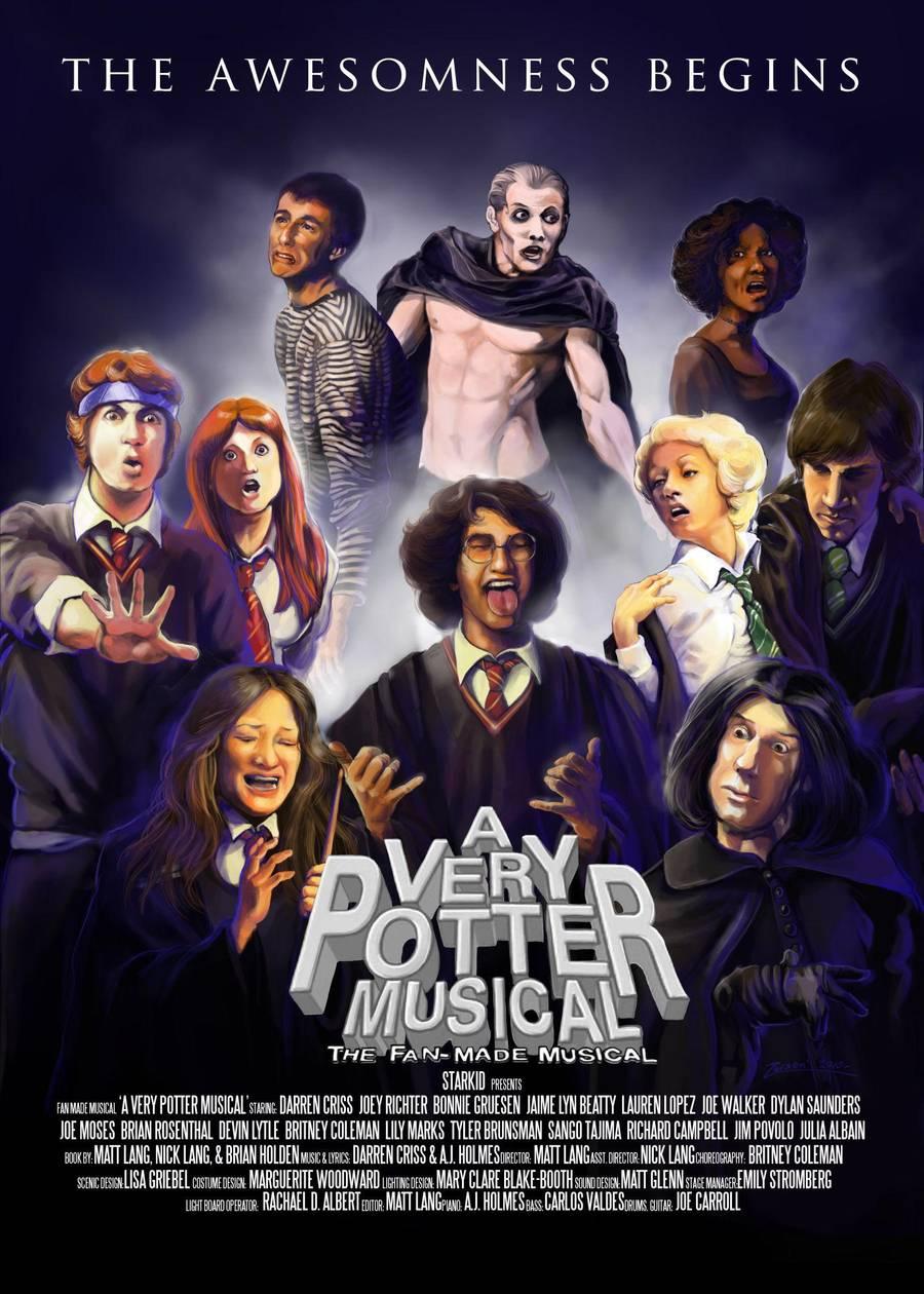 A Very Potter Musical (plakát s herci)