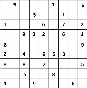 Střední sudoku