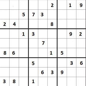 Těžké sudoku